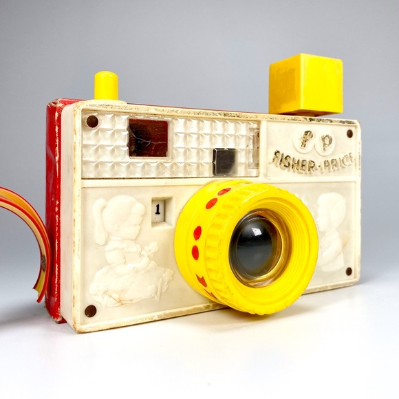 Vintage 1967 Fisher-Price Picture Story Camera Toy